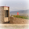 Antelope Valley Poppy Reserve Kiosk at park entrance.