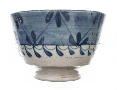 English handpainted earthenware