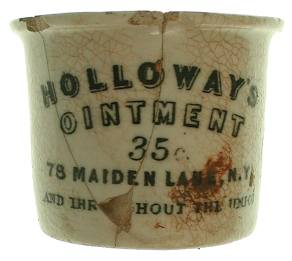 Holloway's Ointment Jar