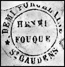 Image of Fouque pottery mark