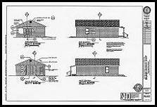 Milner Barbershop reconstruction plan