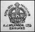 Image of Wilkinson pottery mark