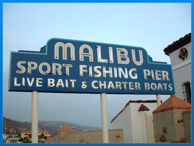 Malibu Pier in Malibu, California